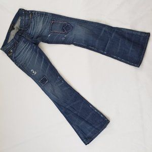 Lucky Brand Legend Distressed Jeans 0/25